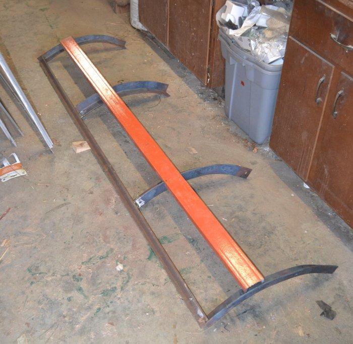 Stinger's Home Built Snow Plow