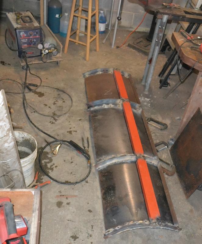 Stinger's DIY Snow plow plowboard